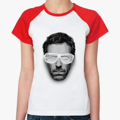 Женская футболка реглан хаус