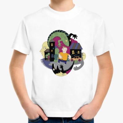 Детская футболка Страшные картинки