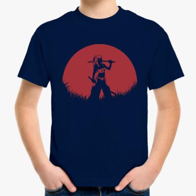 Детская футболка Аниме самурай