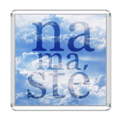 Магнит Yoga Namaste