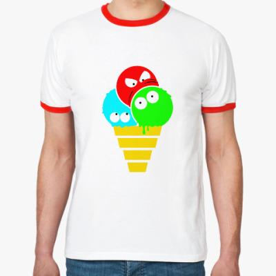 Футболка Ringer-T Мороженое