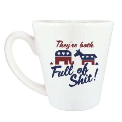 Чашка Латте Full of shit