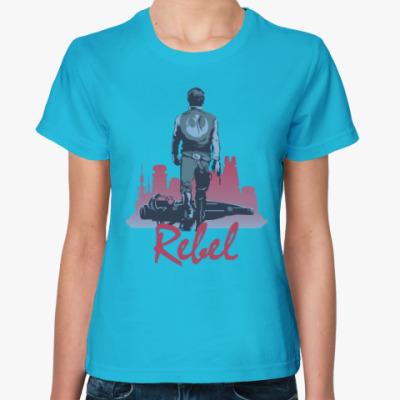 Женская футболка Хан Соло rebel