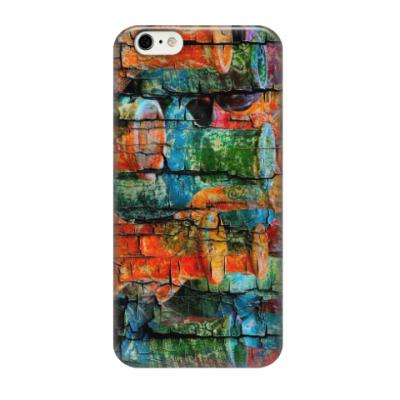 Чехол для iPhone 6/6s краски дерево