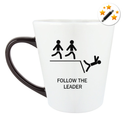 Кружка-хамелеон Follow the leader