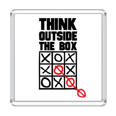 Магнит  Think Outside The Box