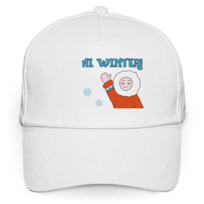 Кепка бейсболка Hi Winter: зима, которая всегда с тобой