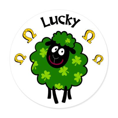 Виниловые наклейки Lucky