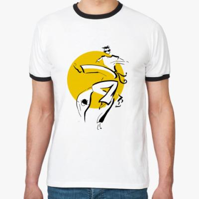 Футболка Ringer-T  Капоейра