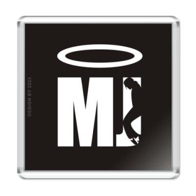 Магнит MJ is Saint