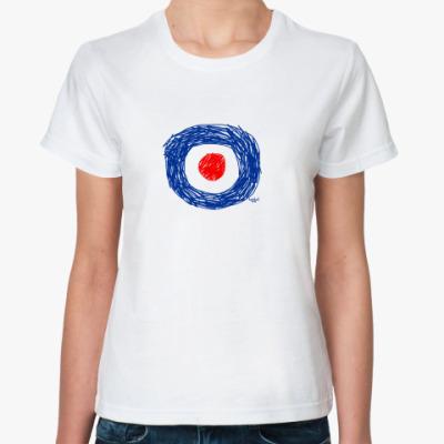 Классическая футболка Pencil target