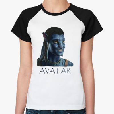 Женская футболка реглан  Avatar