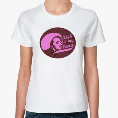 Классическая футболка Bob is my hero