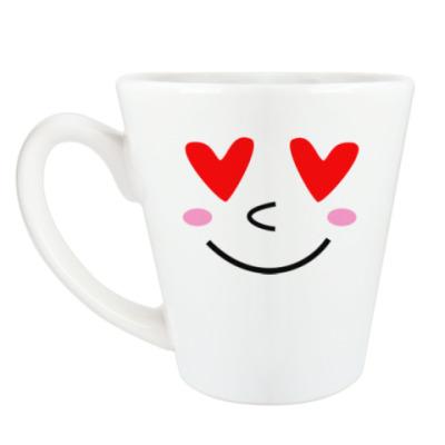 Чашка Латте Я тебя люблю