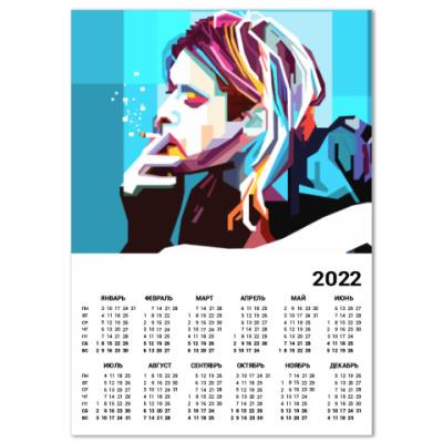 Календарь Kurt Cobain