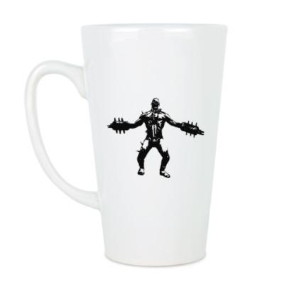 Чашка Латте Большая кружка Fleshpound