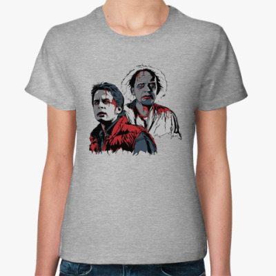 Женская футболка Back to the dead