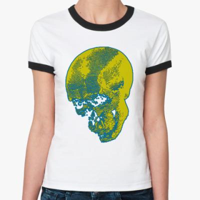 Женская футболка Ringer-T   BOYS NOIZE