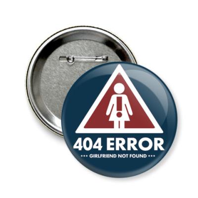 Значок 58мм  58 мм 404 ошибка