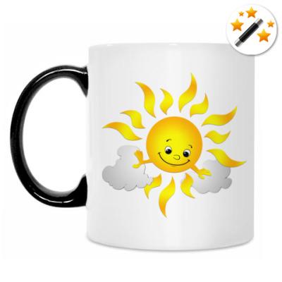 Кружка-хамелеон Солнце