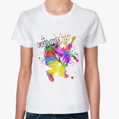 Классическая футболка FOB splash+