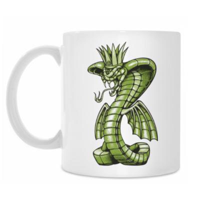 Кружка Кобра с драконом