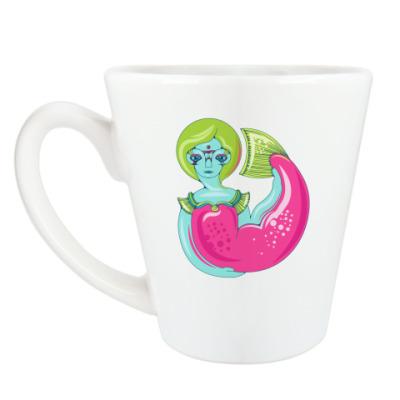 Чашка Латте Русалка