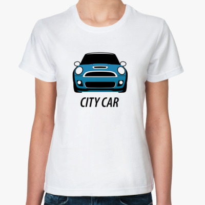 Классическая футболка City car