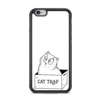 Чехол для iPhone Ловушка для кота