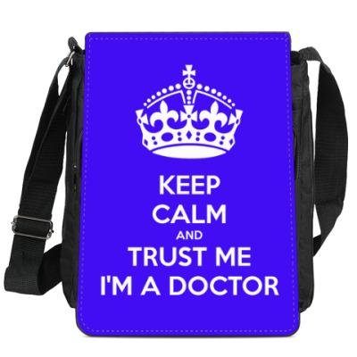 Сумка-планшет Trust Me I'm The Doctor