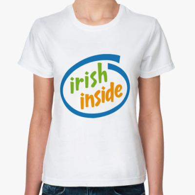 Классическая футболка irish inside