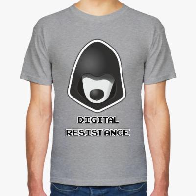 Футболка Digital Resistance (цифровое сопротивление)