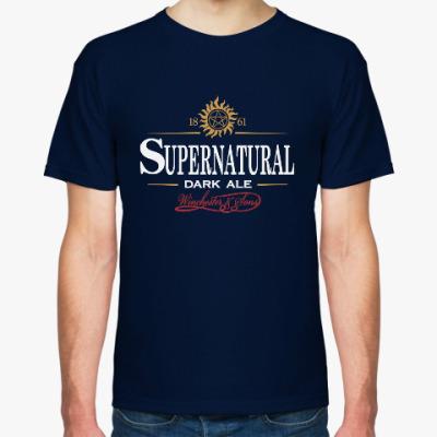 Футболка Supernatural - Темный эль