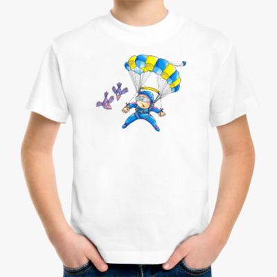 Детская футболка ПАРАШЮТИСТ