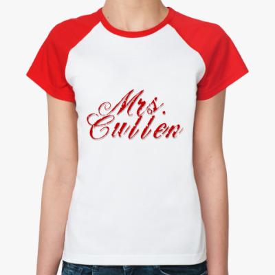 Женская футболка реглан Mrs. Cullen