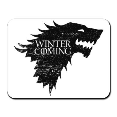 Коврик для мыши Winter is Coming