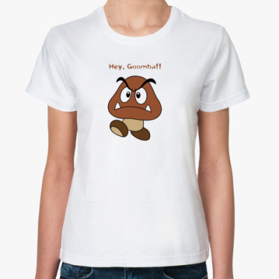 Классическая футболка Goomba