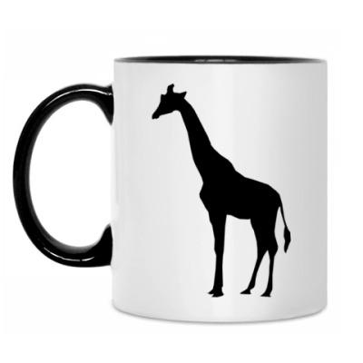 Кружка Жираф и носорог