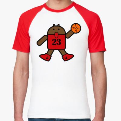 Футболка реглан Jordan Android