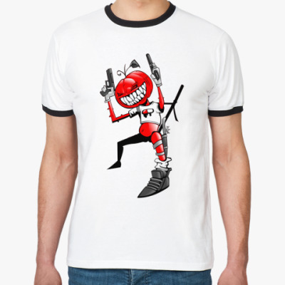 Футболка Ringer-T Hall Gun
