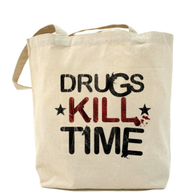 Сумка DRUGS KILL TIME