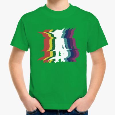 Детская футболка Танцы пришельца