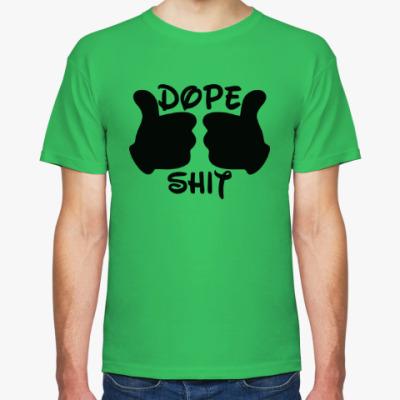 Футболка Dope Shit