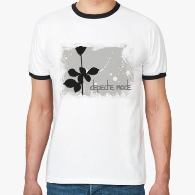 Футболка Ringer-T Depeche Mode (Violator)