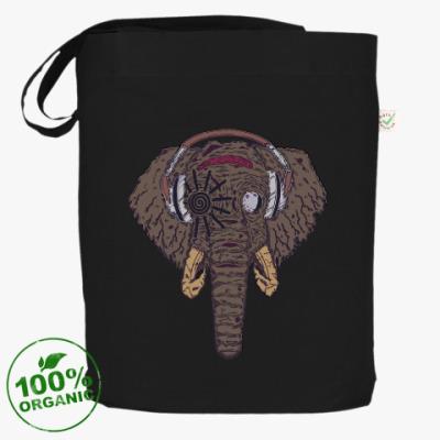 Сумка Слон в наушниках