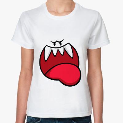 Классическая футболка Monster face