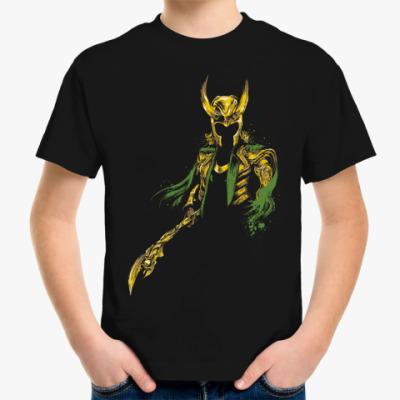 Детская футболка Локи