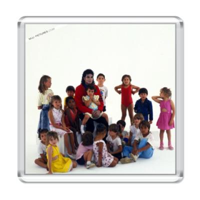 Магнит Michael and children