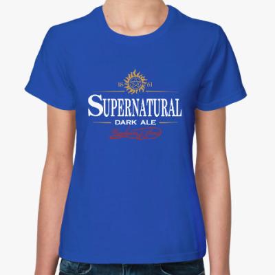Женская футболка Supernatural - Темный эль