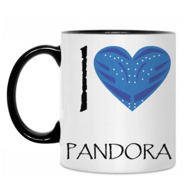 Кружка I love Pandora
